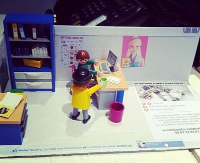 Un CV playmobil très fun