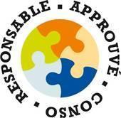 Logo « Approuvé conso responsable » by E.Leclerc