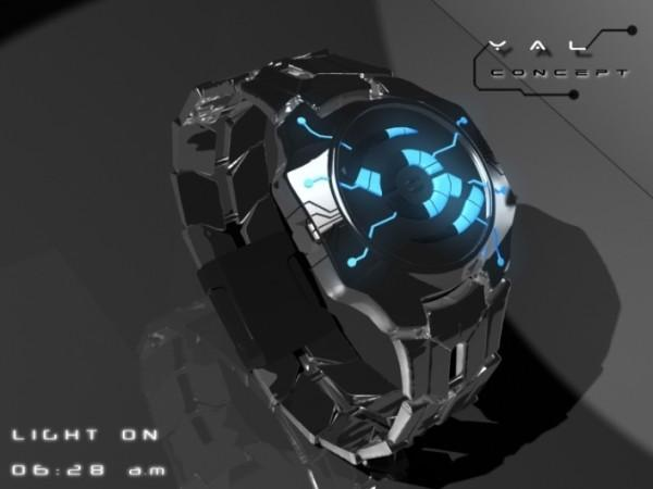 yal led watch design3 600x450 Tokyoflash YAL Watch : une montre à diode électro luminescente