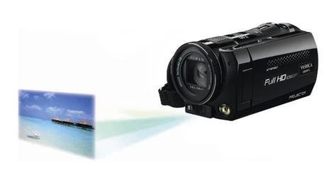 Deux caméscopes abordables intégrant un système de vidéoprojection