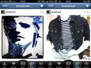 Instagram Levi's