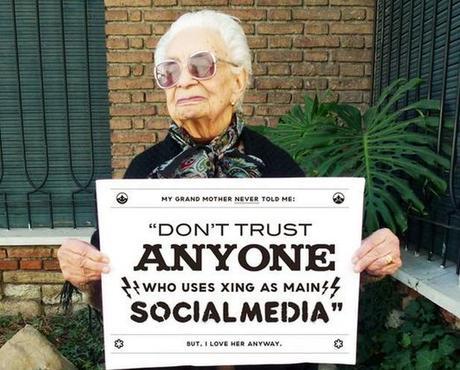4 Les conseils de grand mère sur le web et les réseaux sociaux
