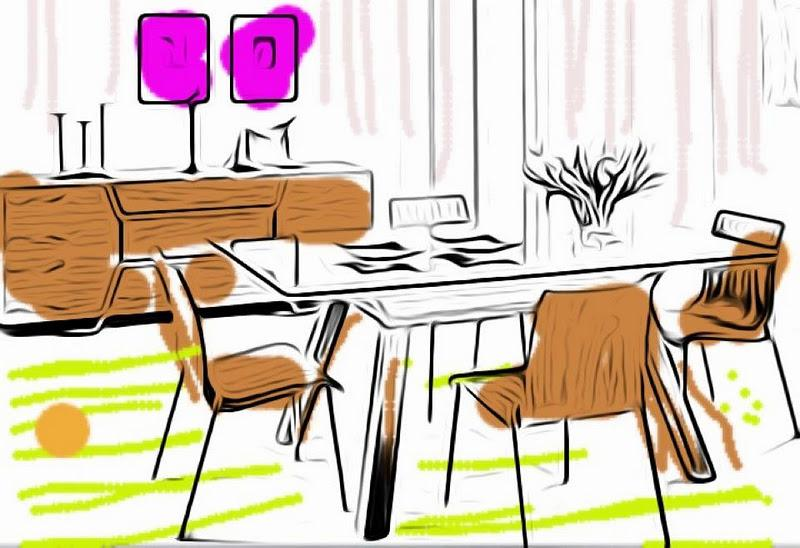 Croquis/esquisses/dessins Deco D\'Interieurs copyright Luka Deco ...