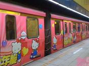 Taiwan rame métro Hello Kitty