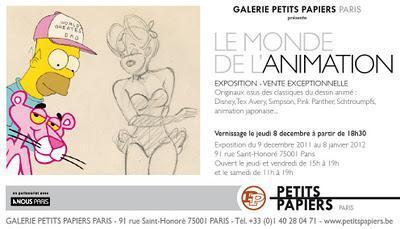 Les expositions BD de la semaine du 5 au 11 décembre 2011