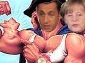 Merde Encore semaine Übermensch Überfrau vont sauver l'euro monde. Défilé pornographique.