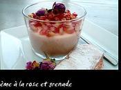 Crème rose grenade