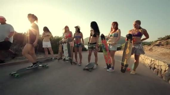 Endless Roads 2 – « The Island » avec le Longboard Girls Crew !!