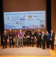 Burger, Serphydose et Movidone : Les 3 lauréats du Concours Alsace Innovation 2011