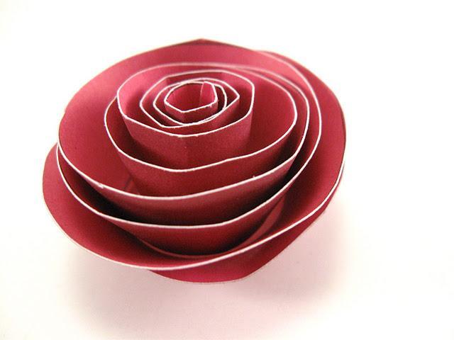 Tuto Fleur En Papier Cheap Tu As Ralis Une Superbe Fleur En Papier