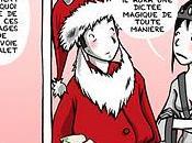 HAMALET Père Noël jette ordures XMAS