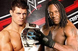 Booker T remportera t'il son second titre de Champion Intercontinental face à Cody Rhodes ?
