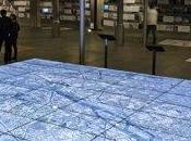 Google Earth écrans Pavillon l'Arsenal Paris