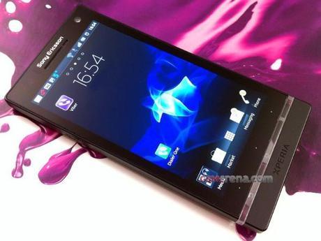 Sony Ericsson Arc HD – Nozomi, quelques photos