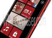 premier rendu pour Nokia Lumia