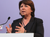 Martine Aubry: «François Hollande pour parler français»