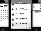 Agenda Calendar iPhone, version plus ambitieuse depuis lancement iPad...