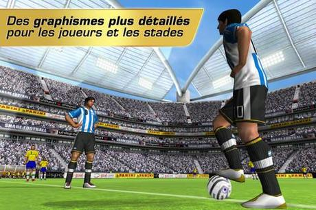 Gameloft offre aujourd'hui seulement, Real Football 2012 sur iPhone...