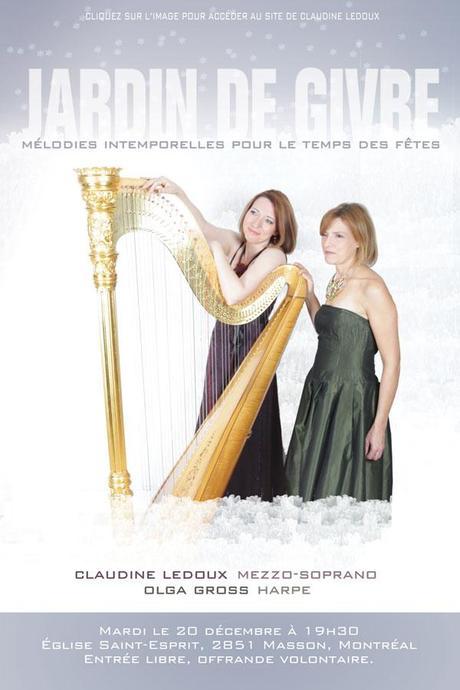 Marie-Nicole Lemieux et Bach pour Noël à Québec, Jonquière et Dolbeau-Mistassini