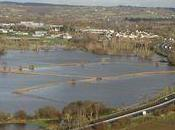 inondations Avranches (50) décembre 2011