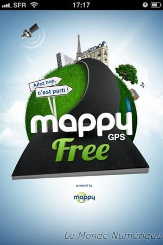 Mappy lance son application gratuite Mappy GPS Free sur iOS et Android