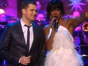 NOUVELLE PRESTATION MICHAEL BUBLÉ feat. KELLY ROWLAND WHITE CHRISTMAS