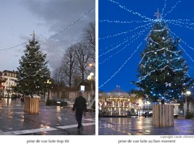 Technique : la photo au moment de Noël