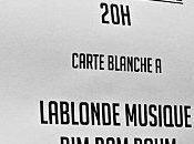 Hier soir, folie Gibus pour carte blanche blogs (Gibus Calling 19.12.2011)