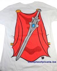 craquage, t-shirt, battlestar galactica, she-ra, DC, batgirl, wonder woman