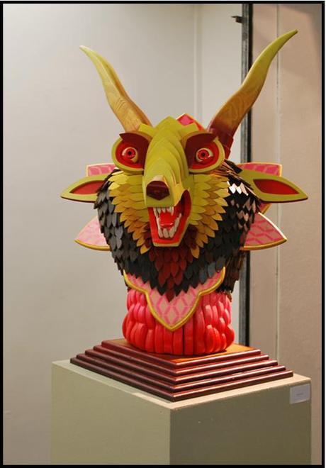 LG Galerie A J FOSIK statue1 A.J.Fosik : trophées de chasses fantastiques à la Galerie L.J.