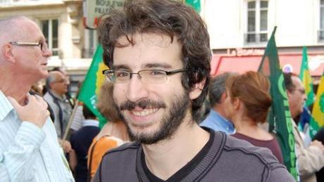 Stéphane Sitbon-Gomez, directeur de campagne d'Eva Joly à 24 ans.