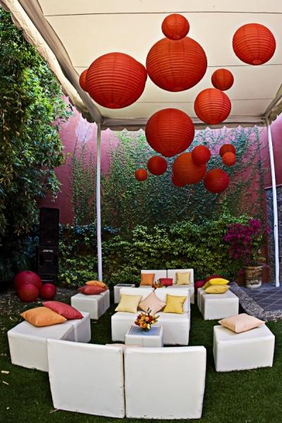 Decoration de jardin avec lanternes pour mariage - Paperblog