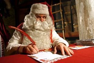 La lettre au Père Noël de Nicolas Sarkozy