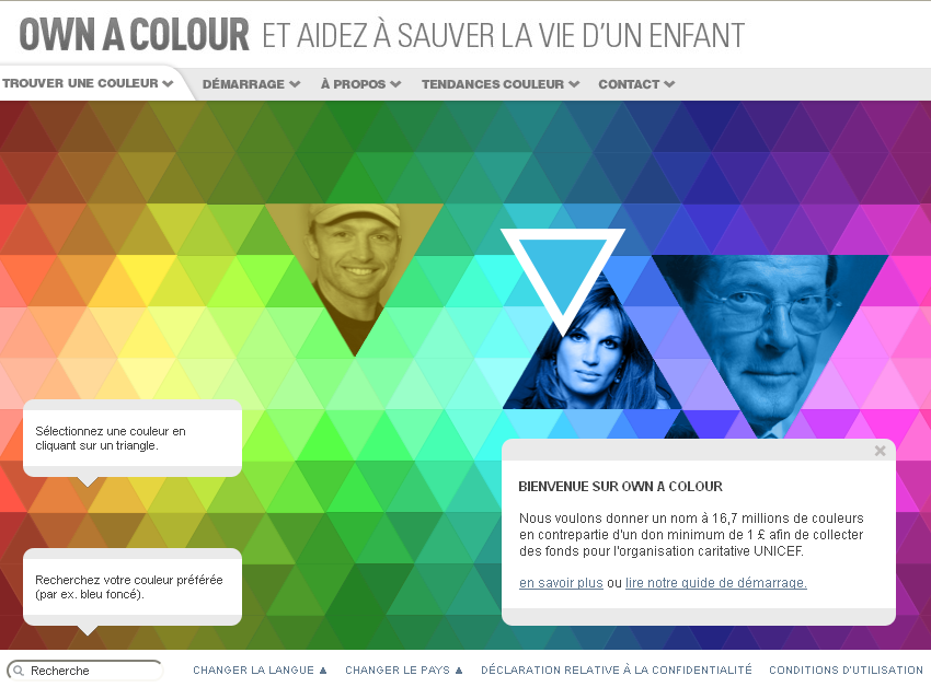 Ownacolor : partenariat DULUX & UNICEF UK