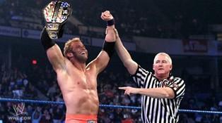 Le Champion des USA Zack Ryder s'impose face au Champion Intercontinental Cody Rhodes