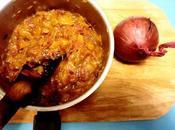Chutney mangue-oignon rouge