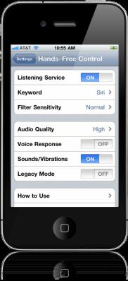 Hands-Free Control 2.0-11: Siri pour votre iPhone/iPad