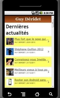 Web Side Stories en application Android !
