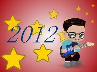 Bienvenue à 2012, excellente année à tous!