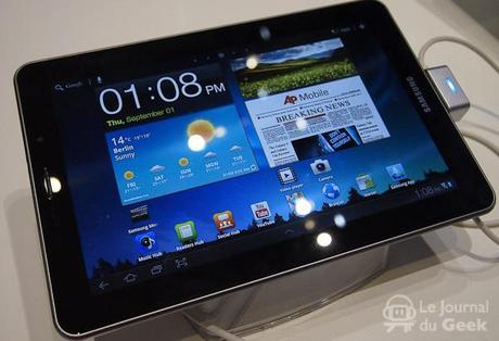 samsung galaxy tab 7 7 live 081 La Samsung Galaxy Tab 7.7 mi janvier ?