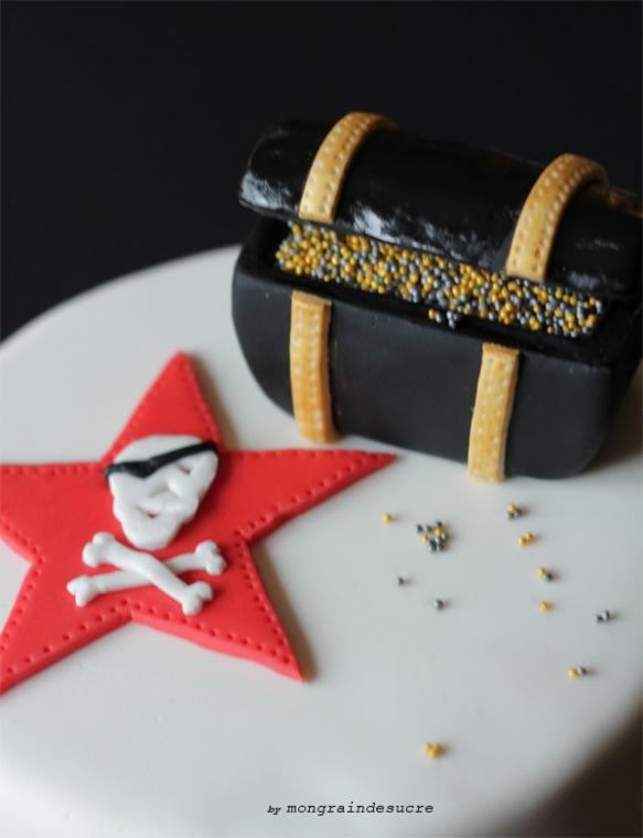 pirate cake of the new year !!