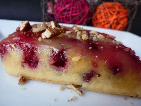 Gâteau renversé aux cranberries selon Martha Stewart