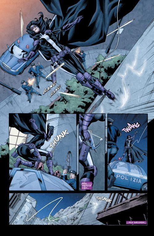 Huntress # 4 : la preview