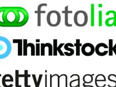 l'usage banques d'images Internet