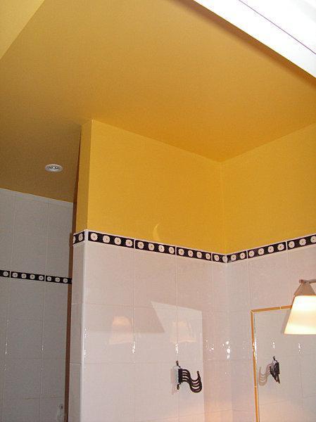 salle de bain peinture rev tement mural mati re effet lire. Black Bedroom Furniture Sets. Home Design Ideas