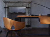 Roberto Lazzeroni Poltrona Frau: Fred Ginger Table Chair