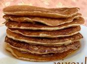 Pancakes flocons d'avoine