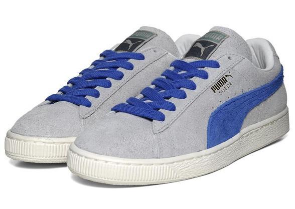 puma grise et bleu
