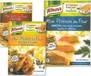 J'ai testé pour vous {produit}: Mon poulet au four par Knorr