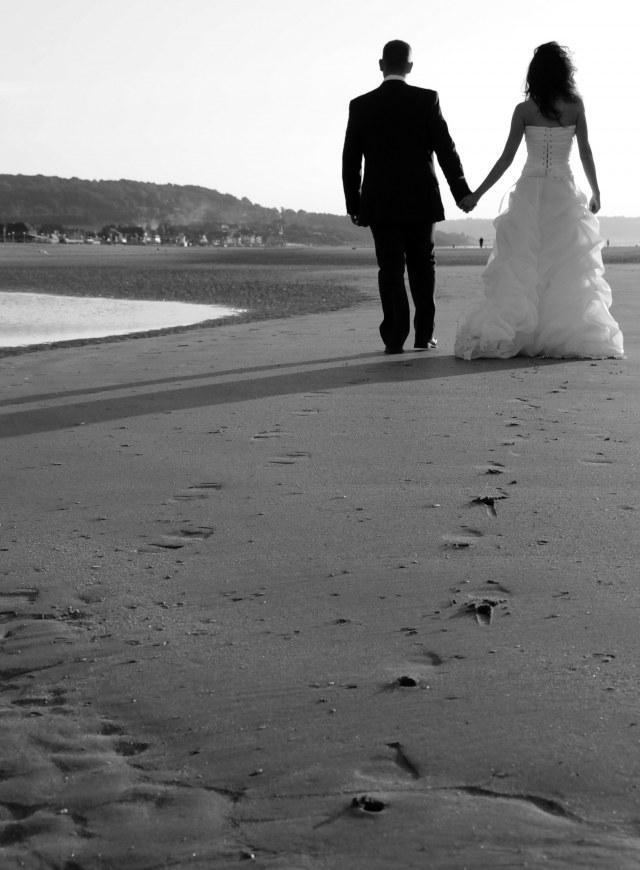 magnifiques photos de mariage en noir et blanc